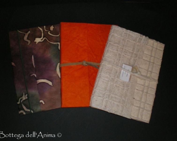 Quaderno carta di riso fantasie mix